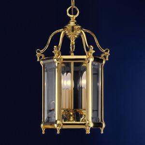 Art. 745/3, Lanterna in ottone con vetri sfilabili
