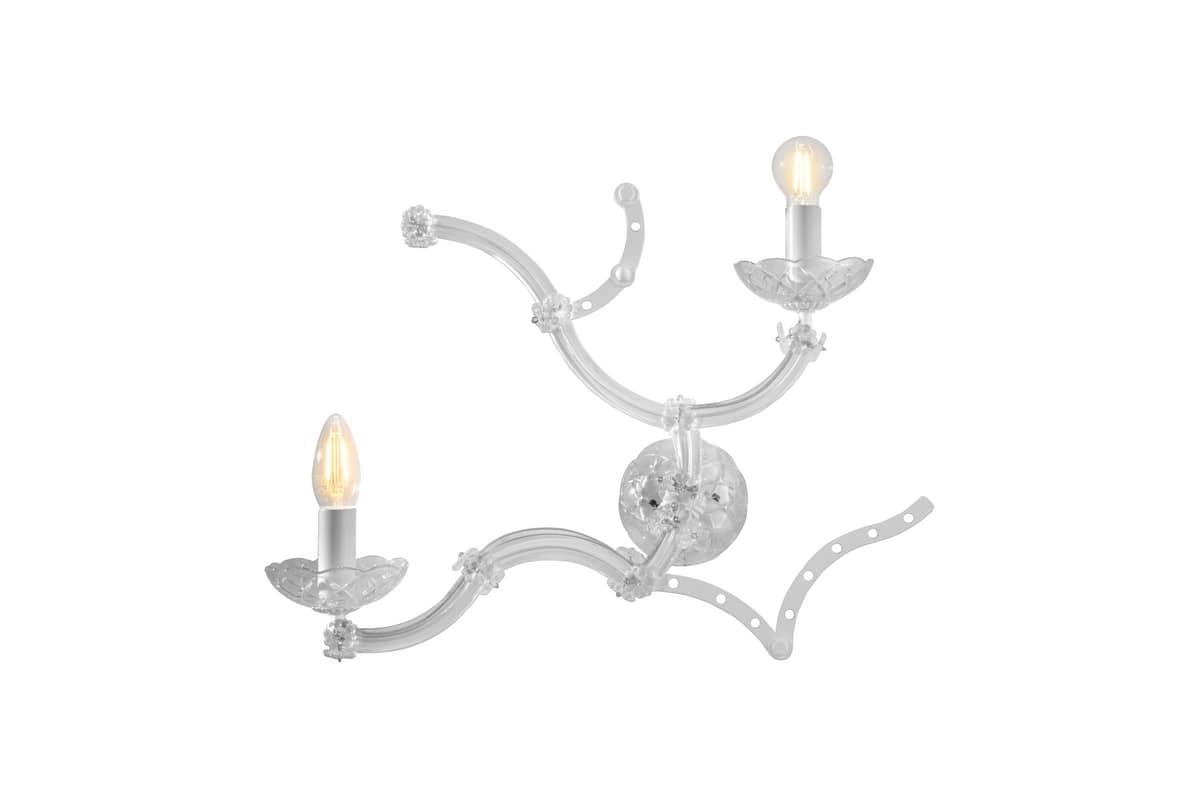 Lampadari vetro di murano incantevole contemporanea applique