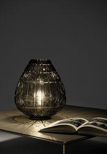 Reflex, Lampada da tavolo in vetro soffiato