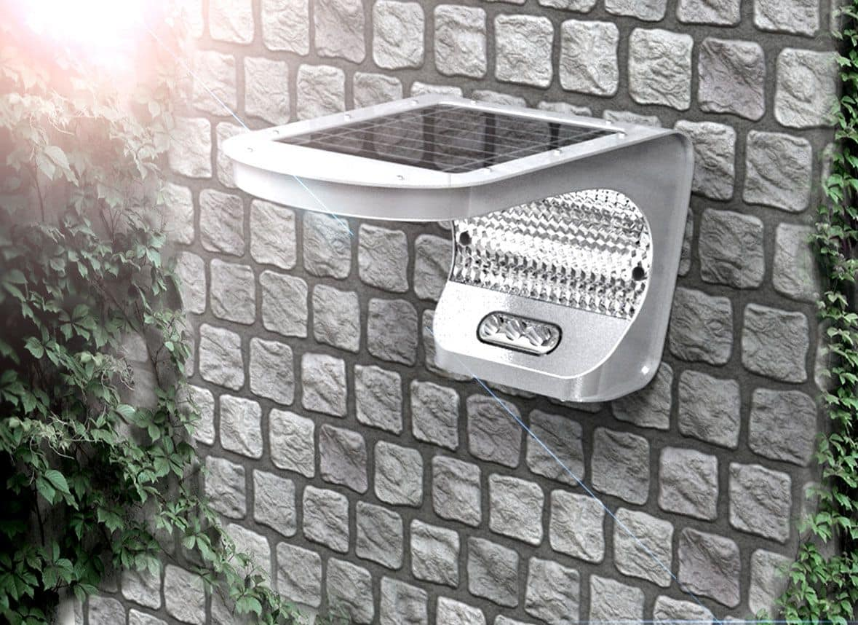 Luce a led per esterno, luce a energia solare da esterno  IDFdesign