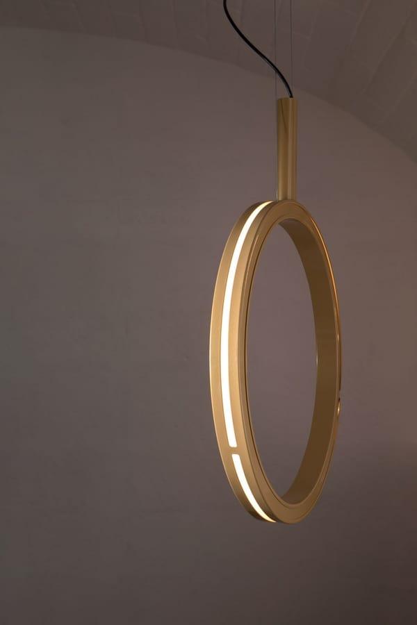 Periplo SE156 B, Lampada a forma di cerchio, con luci a led