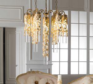 Art. 8084.9L, Sfarzoso lampadario dallo stile classico