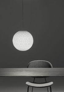 Ball, Lampada sferica in vetro soffiato