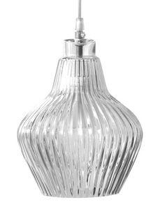 Ceraunavolta SE135 5S INT, Lampada a sopensione, in vetro trasparente