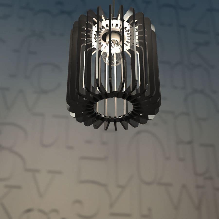montaggio lampadari : ... , Lampada a sospensione in plexiglass con montaggio ad incastro