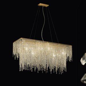 Crystal Dream R SS4085R-110x30x55-K1, Lampada a sospensione in cristallo per albergo
