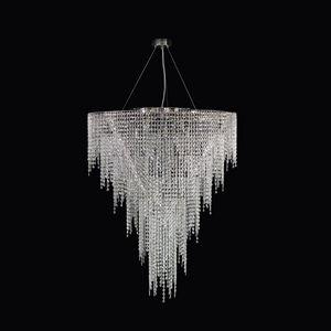 Crystal Dream SS4071-90�110-N, Lampada a sospensione in cristallo per hall di albergo