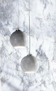DECO LAMP, Lampada a sospensione con paralume decorato