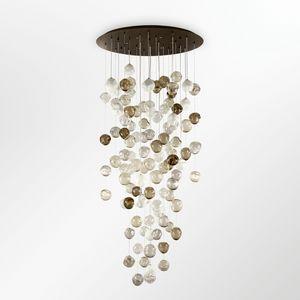 Desafinado PL7540-100�260-1, Plafoniere con sfere in vetro multicolore