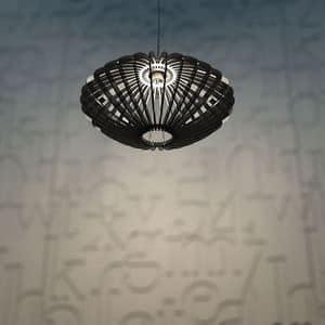 DISCO52, Lampada a sospensione in plexiglass