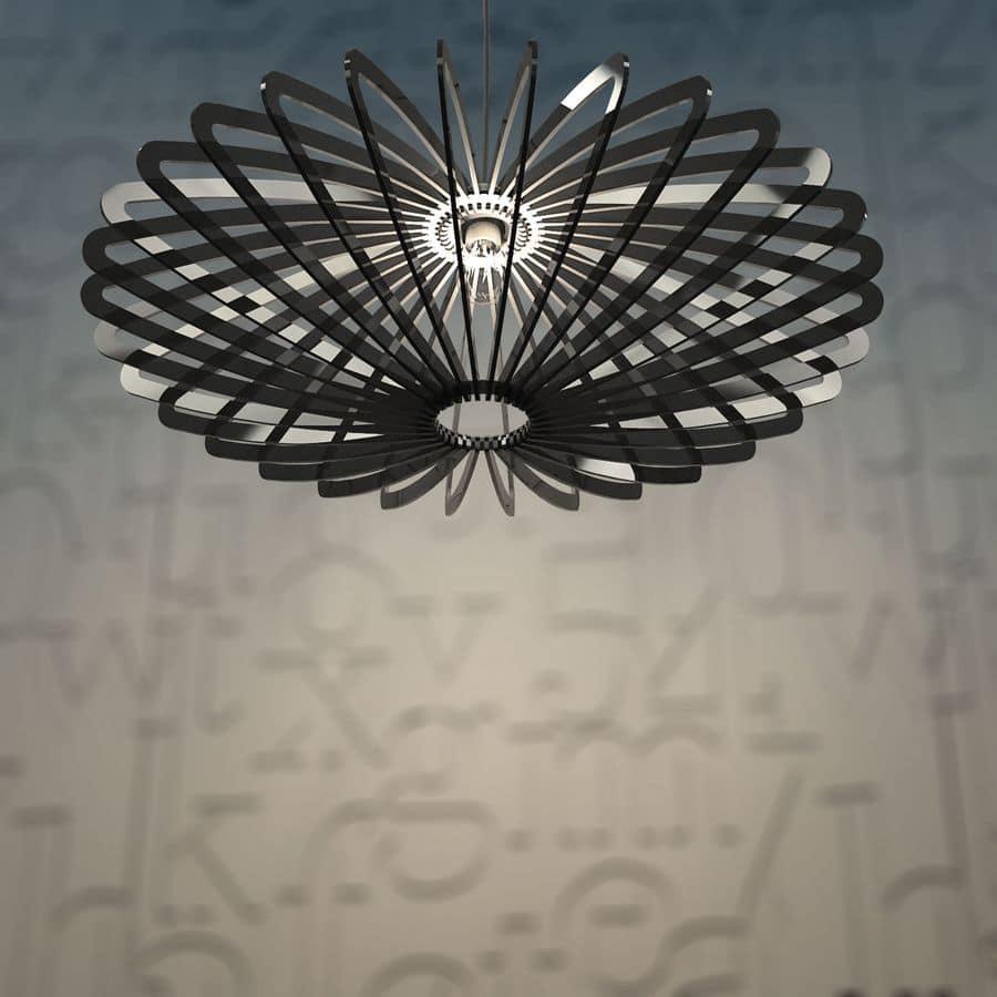 DISCO88, Lampada a sospensione in plexiglass
