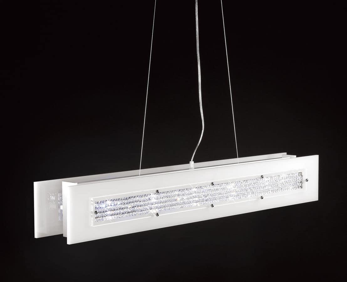 Dubai s100 lampada a sospensione moderna ideale per sale for Salotti e sale da pranzo