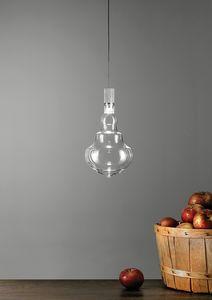 Honey trasparente, Lampade a sospensione in vetro soffiato borosilicato