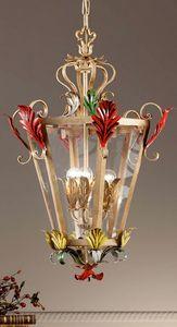 L.8345/3, Lampadario a forma di lanterna