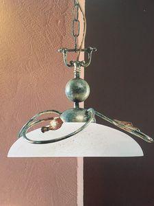 Lampada a sospensione 2049/S, Lampada a sospensione in ferro, prezzo outlet