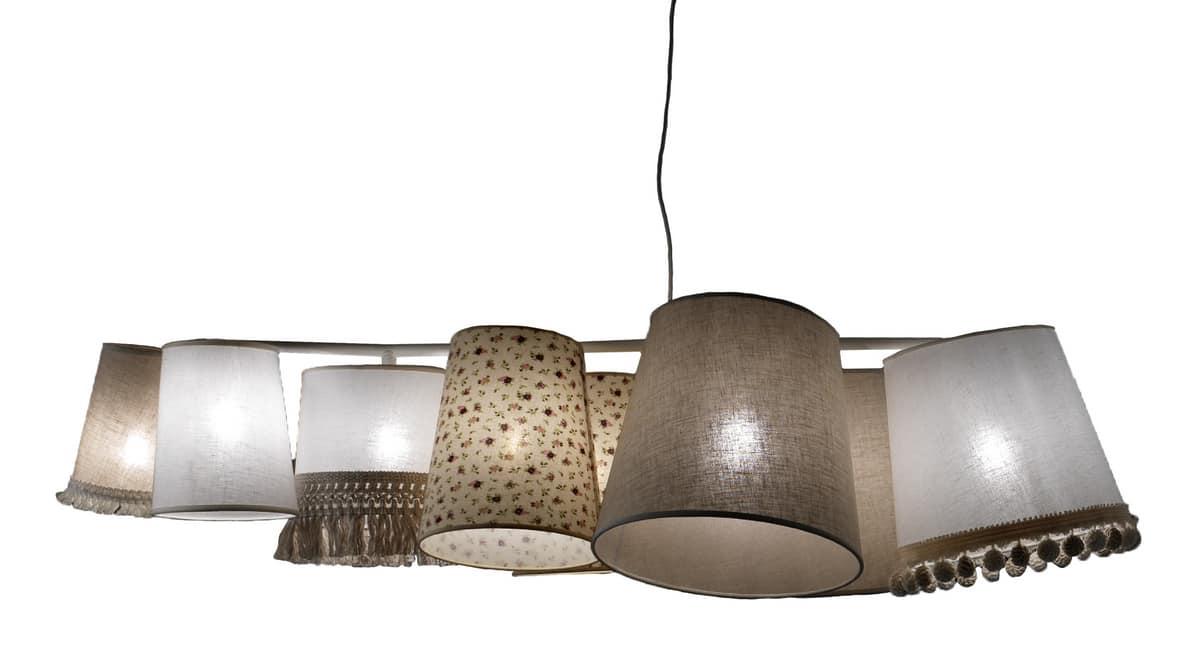 Lampadari a tre lampade lampadario da soffitto a sospensione con