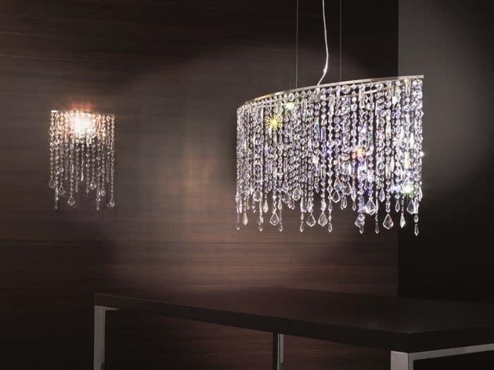 lampadari baga : 42 . Eleganti lampade con pendenti in cristallo - Marylin by Axo Light ...