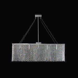 Matrix SS4000R-80x14x25-N1, Luminosa lampada a sospensione rettangolare