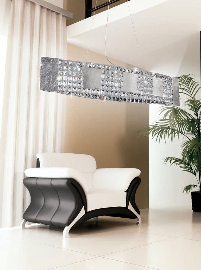 Party sg lampadario elegante ideale per sala da pranzo - Lampadario sala da pranzo moderna ...