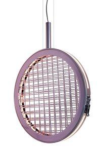 Periplo SE156 A, Lampada a sospensione con intreccio metallico