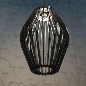 ROMBO, Lampada a sospensione in plexiglass