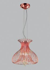 SILHOUETTE � 40, Lampada a sospensione con vetro soffiato di Murano