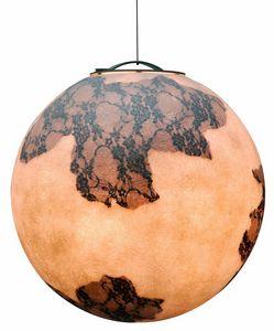 Ulul� Ulul� SE649, Lampada a forma di luna, in vetroresina, anche per esterni