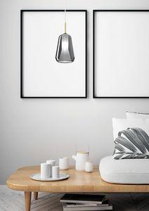 X-Ray, Lampada a sospensione in vetro borosilicato