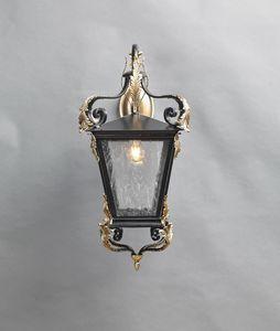 700 GL3012WA-1AD, Lanterna per esterno in ferro decorato