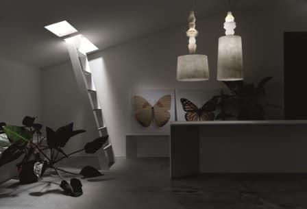 Lampade In Vetroresina : Lampadario sospensione karman lampada a sospensione in