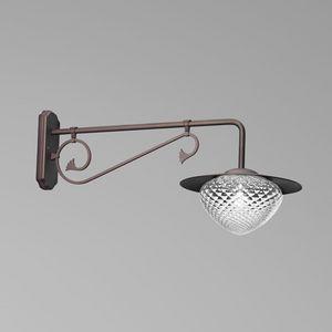 Giglio Eb428-025, Lampada da esterno, dal gusto classico