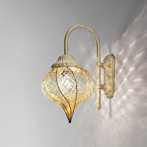 Goccia Eb111-035, Lampada da parete per esterni, a forma di goccia