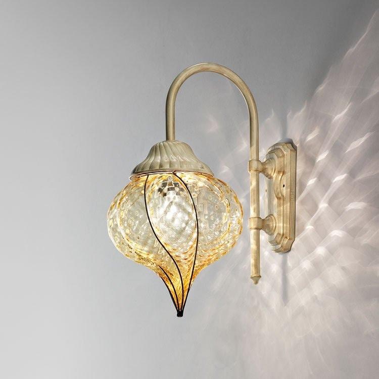 la lampada srl lampada da parete per esterni a forma di goccia idfdesign