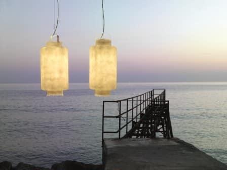 Lampade In Vetroresina : Lampade in vetroresina per interni ed esterni idfdesign