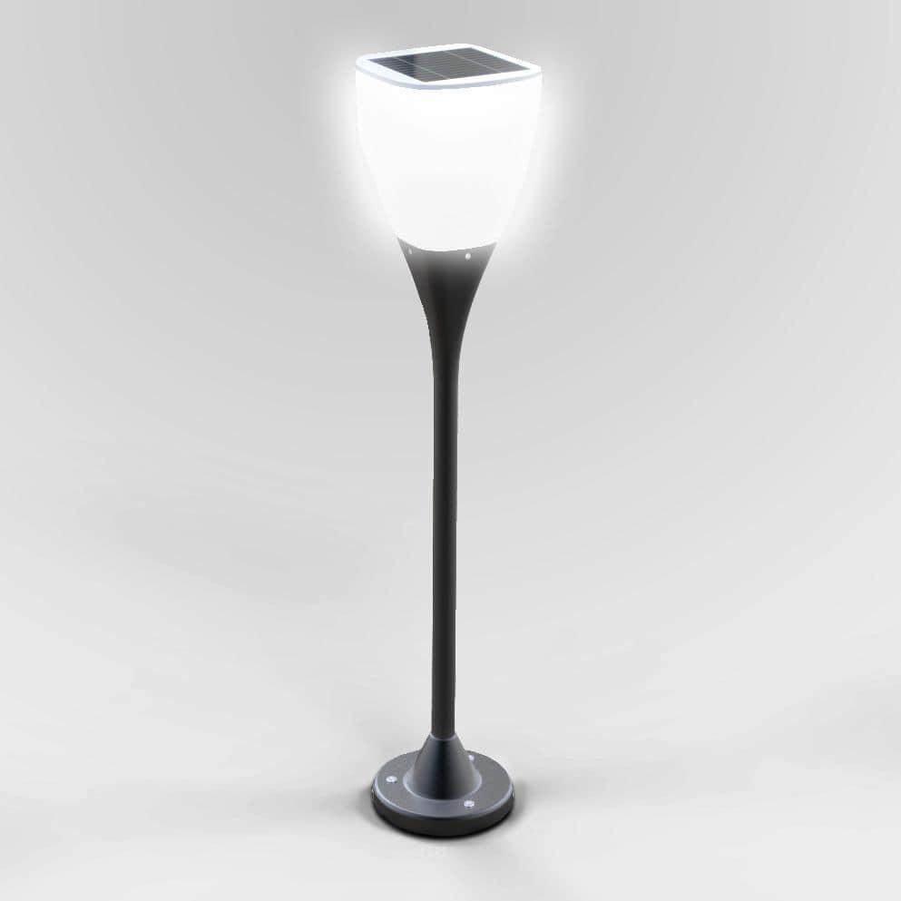 Lampioncino ad energia solare 16 led idfdesign - Lampade da esterno ad energia solare ...