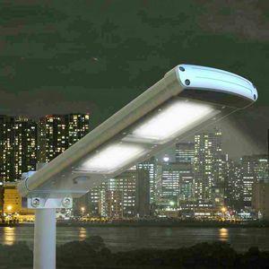 Lampione Stradale Solare Giardino Esterni Strade 48 Super Led PATHWAY, Lampione a led ad energia solare