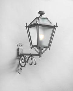 LUNGARNO GL3007AR-1up, Lanterna per esterno in ferro grigio
