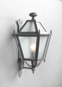 LUNGARNO GL3007WA-1ad, Lanterna a muro in ferro