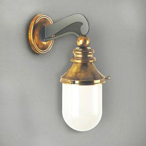 NEMO GL3010WA-1, Lanterna per esterni in ferro con vetro