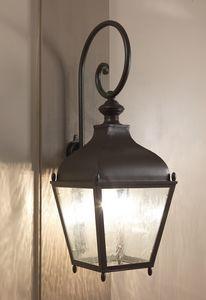 REGGIO GL3035AR, Lanterna a parete in ferro, per esterni