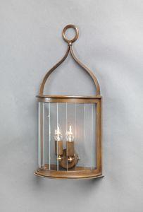 TASIS GL3015WA-3, Lanterna da esterno in ferro zincato