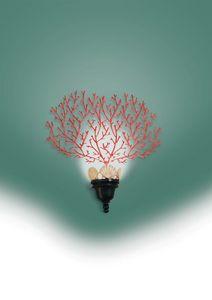 Art. 2000-01-00, Lampada da parete a forma di corallo