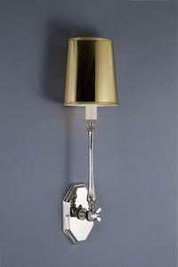 Art. 2200-01-00, Lampada da parete in pvc e nickel