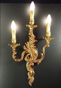 Art. 2200/A3, Applique classica con 3 luci