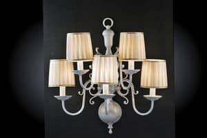 Art. 240/A5, Applique a cinque luci dallo stile classico