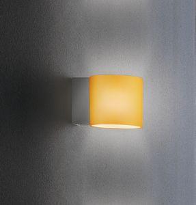 BRICK A 10, Applique da muro in vetro decorato