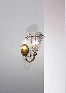Canale Mb115-015, Classica lampada da parete in cristallo Baloton