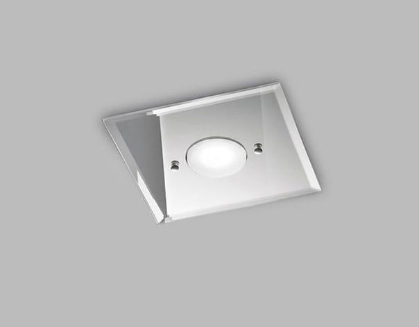 Plafoniere Con Doppia Accensione : Plafoniera in vetro con singola luce idfdesign