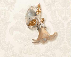 F.6510/1, Faretto da parete con decorazioni in avorio e oro