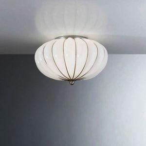 Giove Rc121-014, Plafoniera in vetro soffiato di Murano